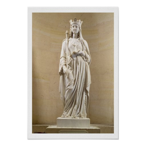 Blanche of Castile (1188-1252) Queen of France, 18 Print