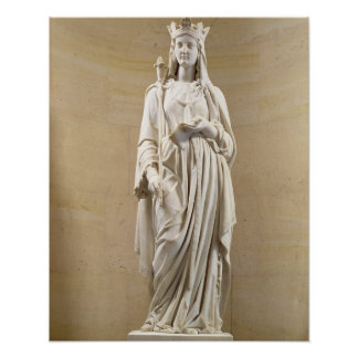 Blanche of Castile (1188-1252) Queen of France, 18 Poster