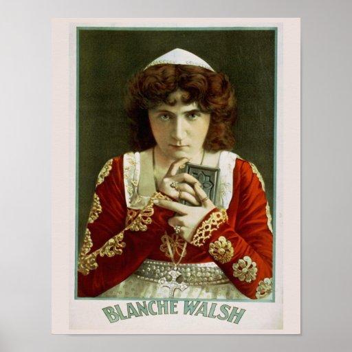 Blanche Walsh Actress Print