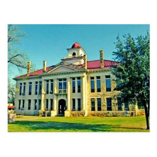 Blanco County Courthouse, Johnson City, TX Postcard