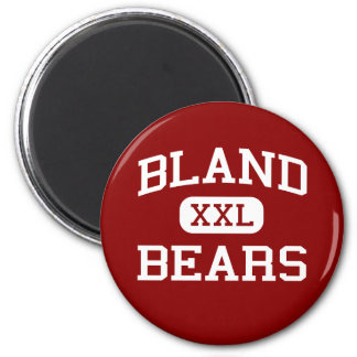 Bland - Bears - Middle School - Bland Missouri 6 Cm Round Magnet
