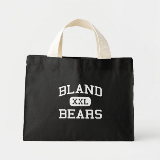 Bland - Bears - Middle School - Bland Missouri Tote Bags