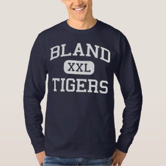 Bland - Tigers - Bland High School - Merit Texas T-Shirt