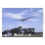 Blanik L-13 Greeting Card