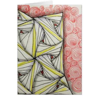 Blank 5x7 Glossy Greeting Card - Original Art