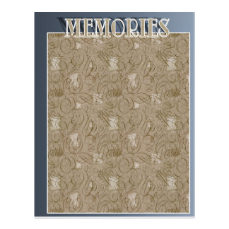 Blank Album Pages Full Color Flyer