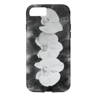 Blank and White Orchids iPhone 7 Case