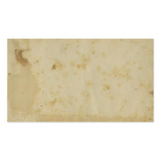 Blank Antique Stained 1870 s Paper Business Cards