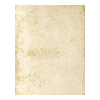 Blank Antique Stained 1870 s Paper Flyer