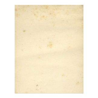 Blank Antique Stained Crinkled 21.5 Cm X 28 Cm Flyer