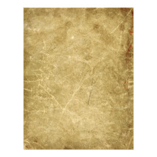 Blank Antique Stained Wrinkled 21.5 Cm X 28 Cm Flyer