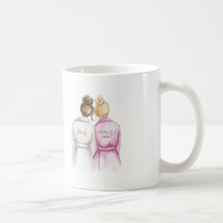BLANK Back Mug Brunette Bride Blonde Matron