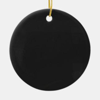 Blank Blackboard Christmas Ornament