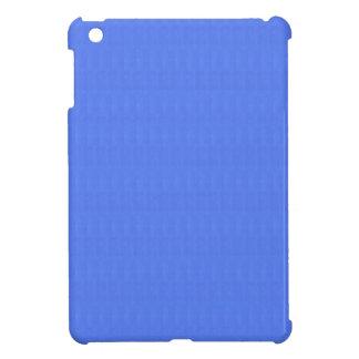 Blank Blue Texture Template DIY add TEXT IMAGE iPad Mini Covers