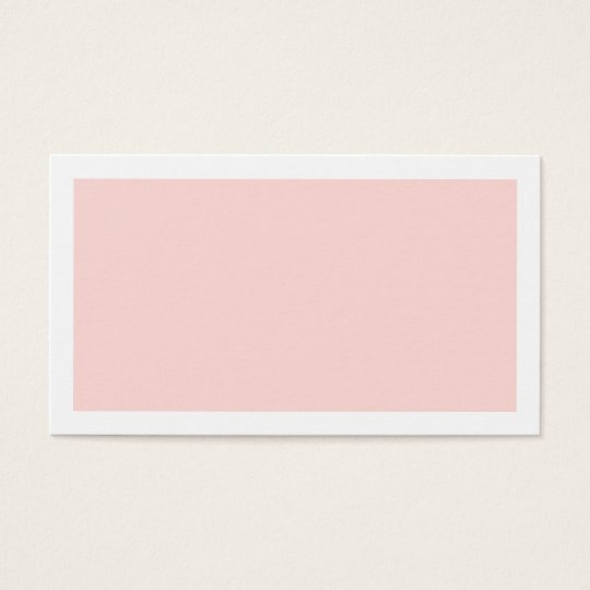 Blank Blush Pink Wedding Advice and Wishes Business