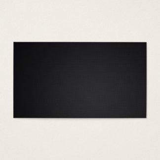Blank carbon fibre design business card