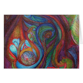 "Blank Card 5x7 titled ""Euphoria"" by M.Manderbach"