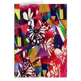 """Blank Card 5x7 titled """"Geofiesta"""" by M. Manderbach"""
