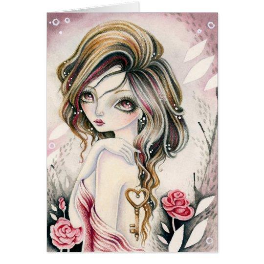 Blank Card  - * Key To My Heart *