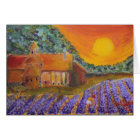 Blank Card Lavender in Provence