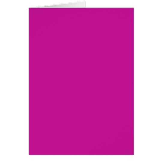 Blank Card with Hot Pink Background