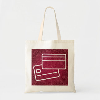 Blank Cards Pictograph Budget Tote Bag