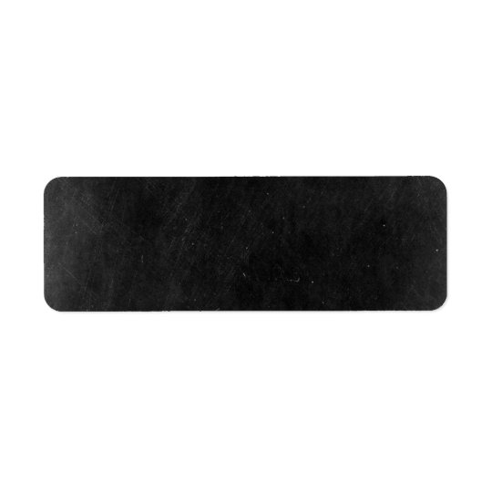 Blank Chalkboard - Customisable Product Packaging Return Address Label