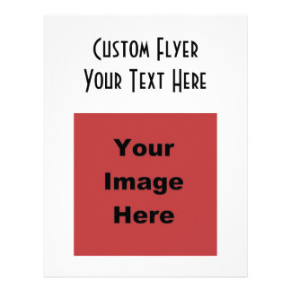 ♥ Blank - Create Your Own Gift 21.5 Cm X 28 Cm Flyer