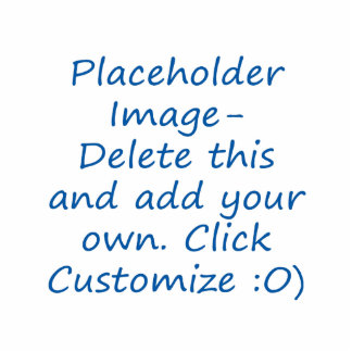 Blank design with placeholder image for DIY Cut Out