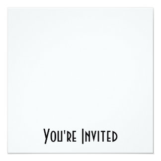 BLANK - DESIGN YOUR OWN - CREATE YOUR OWN 13 CM X 13 CM SQUARE INVITATION CARD