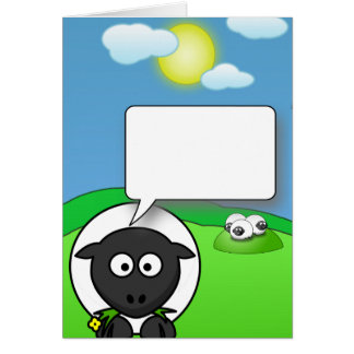 Blank Ewe Card
