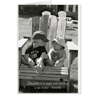 Blank Friendship Card