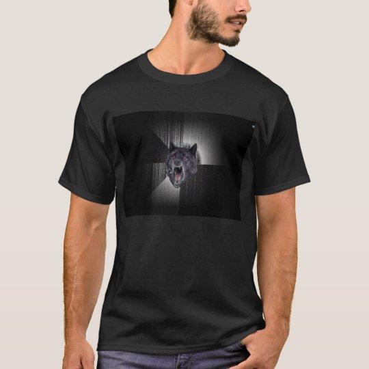 Blank Insanity Wolf Shirt - Dark