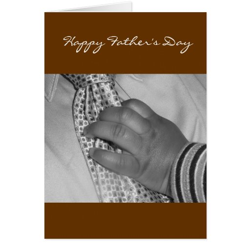 Blank Inside -Happy Father's Day Card