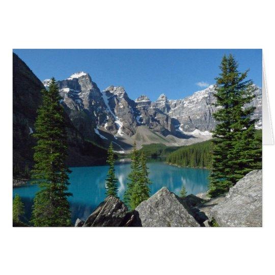 Blank Inside Mountain Magic Greeting Card