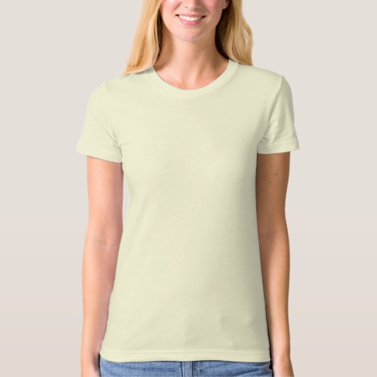 Blank Ladies Organic T-Shirt (Fitted)