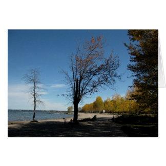 Blank_Lake Simcoe Shore Note Card