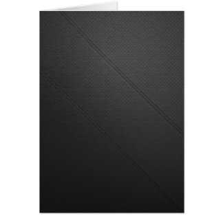 Blank Leather Card