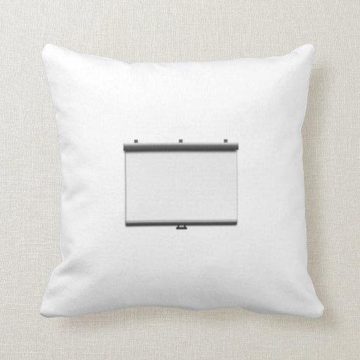 Blank Movie Screen Pillow