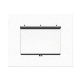 Blank Movie Screen Gallery Wrapped Canvas