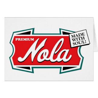 Blank New Orleans Louisiana Card