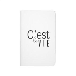 Blank Note Book Journal - C'est La Vie