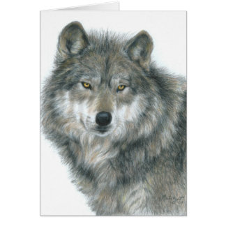 "Blank Notecard ""Haunted Eyes"" Original Art"
