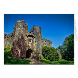 Blank notelet - English Castle Entrance Card