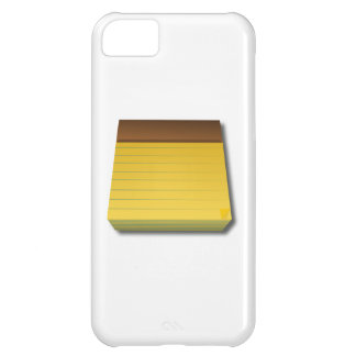 Blank Notepad iPhone 5C Covers