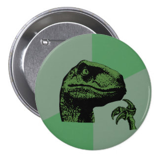 Blank Philosoraptor 7.5 Cm Round Badge