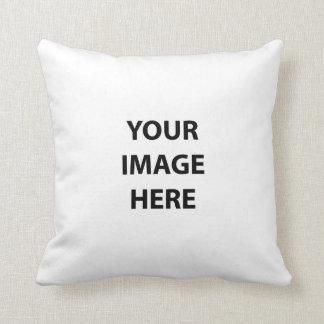 Blank Pillow Template Throw Cushion