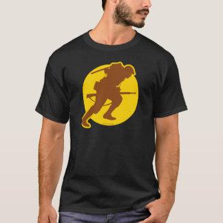 Blank ScanningWWII.com logo T-shirt