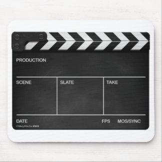 BLANK SLATE / CLAPPERBOARD DESIGN Mouse mat