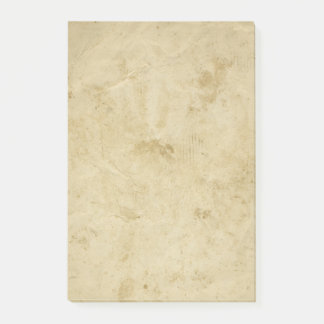 Blank Stained Parchment Vintage Grungy Background Post-it Notes